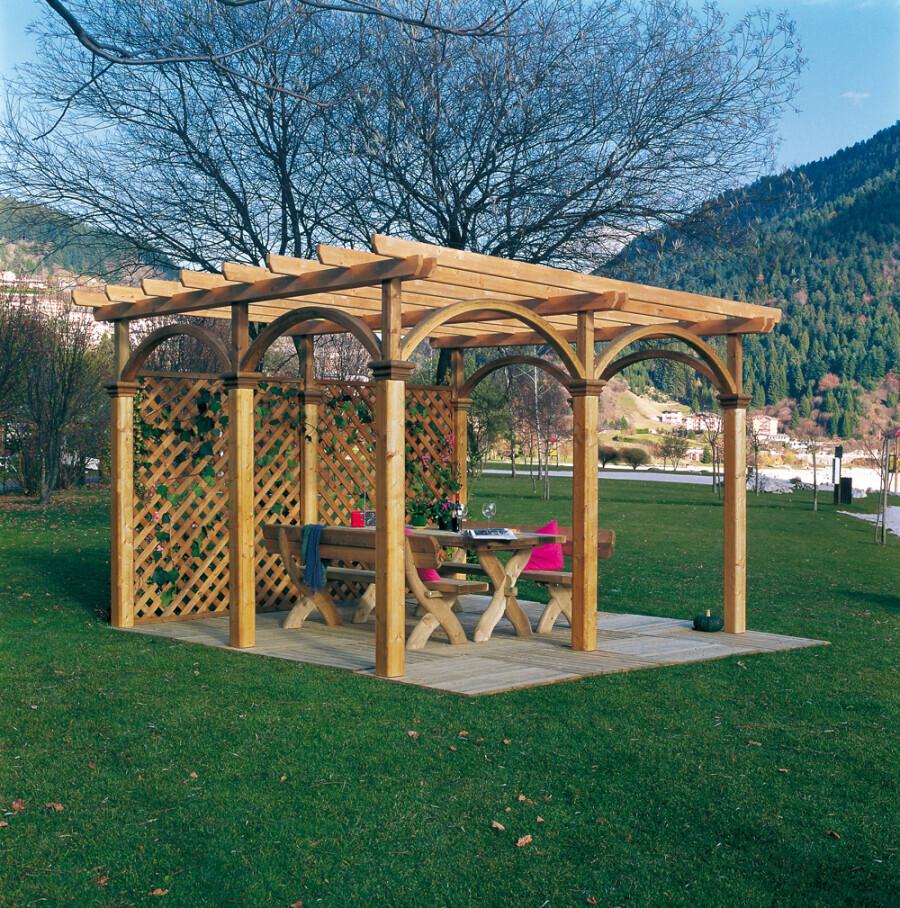Dimensionamento Pergolato In Legno pergolato prestige - pergolati - arredo urbano & giardino